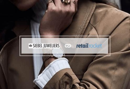 Siebel Juweliers' 12% revenue increase after implementing Retail Rocket's recommendation blocks