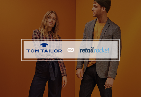 TOM TAILOR twice higher conversion by using Retail Rocket's recommendations