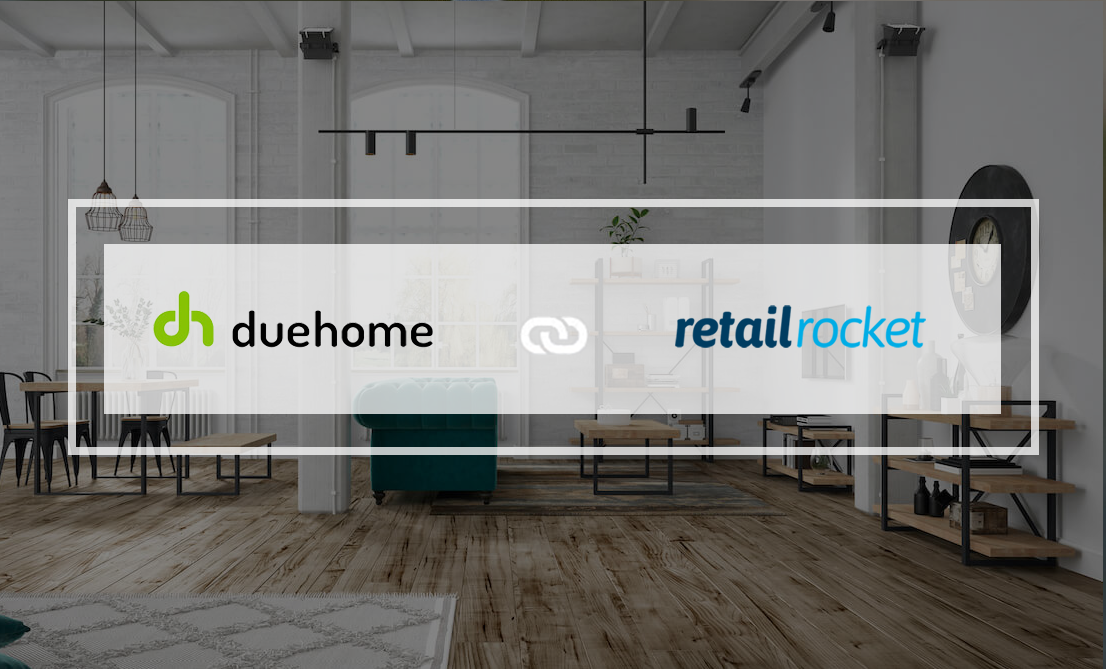 Due-Home achieves an 88% conversion increase with Retail Rocket online personalization